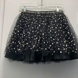 The Kooples tulle polka dot mini skirt